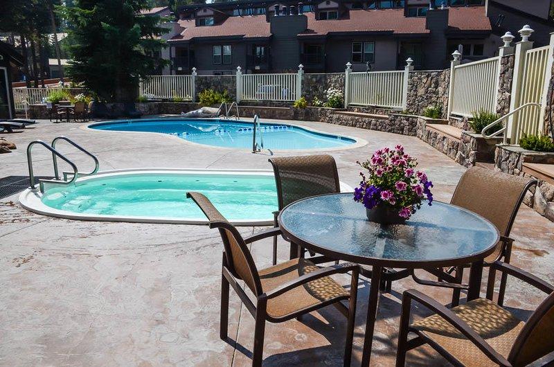 Chamonix #096 - Chamonix Pool Area