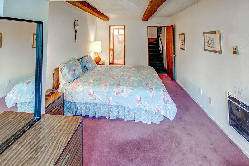 Chamonix #096 - Master bedroom with King bed