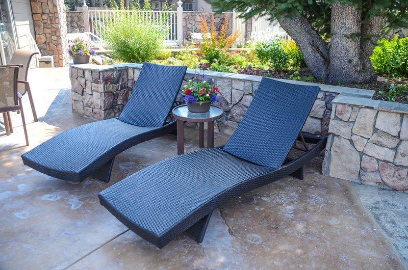 Chamonix #096 - Lounge chairs by pool