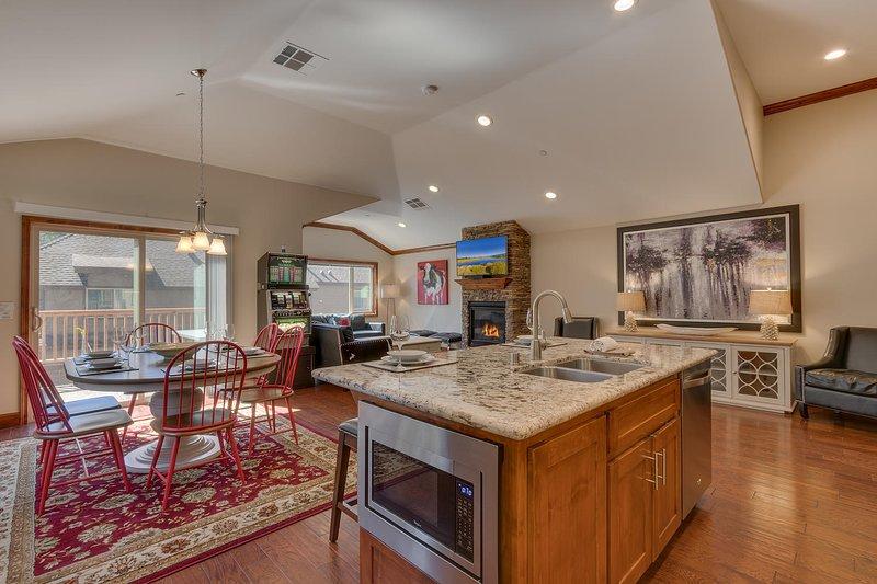 Tahoe Woods Penthouse - Plan d'étage ouvert