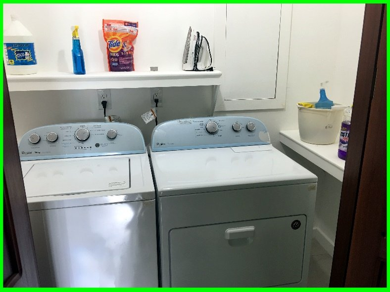 Washer/Dryer available for long term tenants~