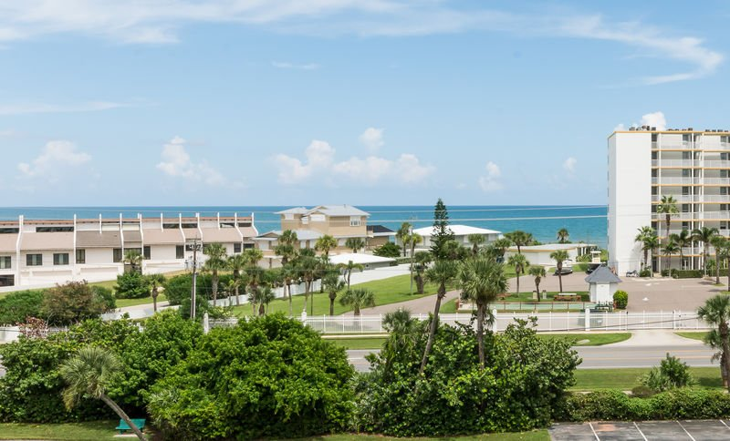 Your ocean view from the balcony.