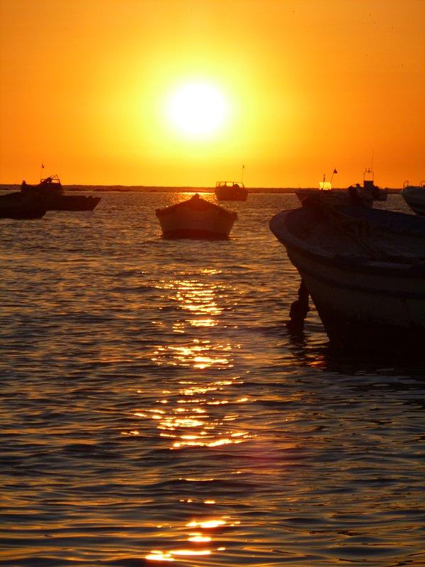 Puesta de sol desde Villaluz
