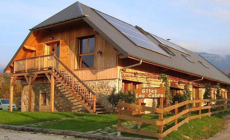 Gite Le Solant 6/8 places, casa vacanza a Montcel
