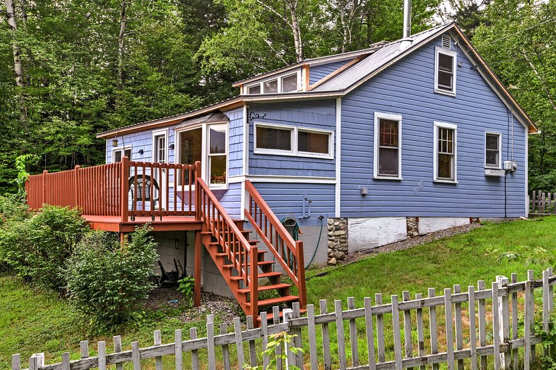 This 2-bed, 1-bath vacation rental is the perfect home-away-from-home!