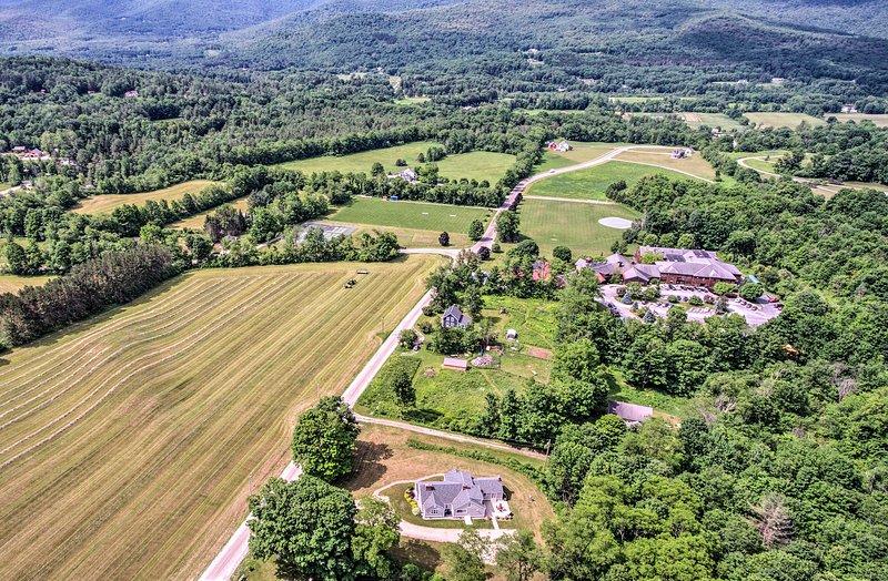 Pendant votre séjour, vous tomberez amoureux de Dorset, au Vermont.