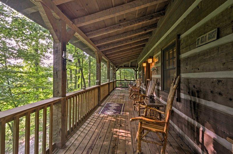 Natureza e serenidade aguardam nesta magnífica cabana.