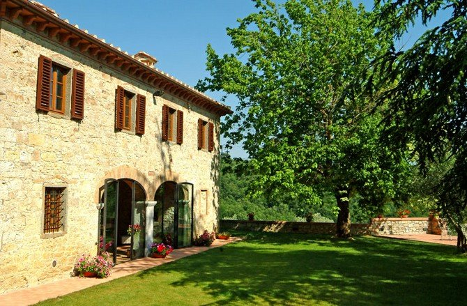 Podere Lucignano Secondo - Apt. Le Logge (first floor), vacation rental in Nusenna
