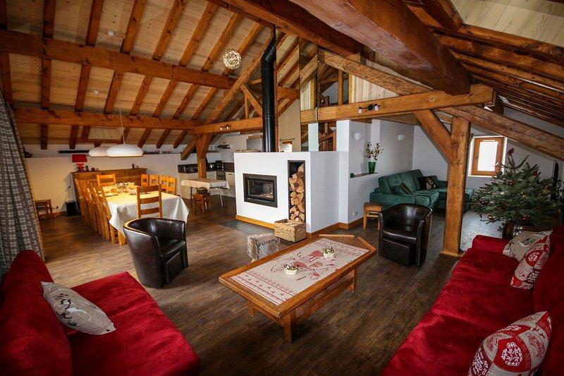 Tsaré Loft, location de vacances à Meribel