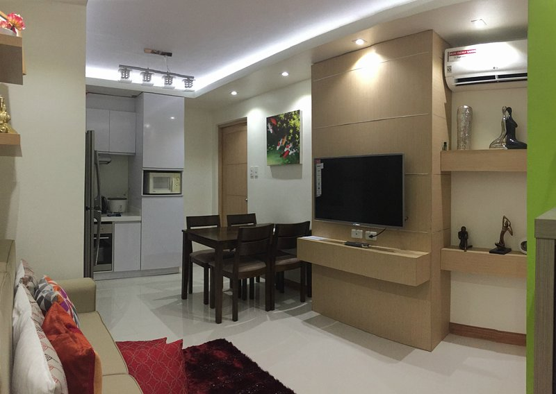 Fully Furnished 2 Bedroom Condo Apartment Has Air Conditioning And Shared Outdoor Pool Unheated Updated 2020 Tripadvisor Cebu City Vacation Rental