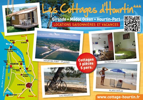 Location Cottages*** 5 pers - Lac et Océan (Gironde-Aquitaine), vacation rental in Hourtin-Plage