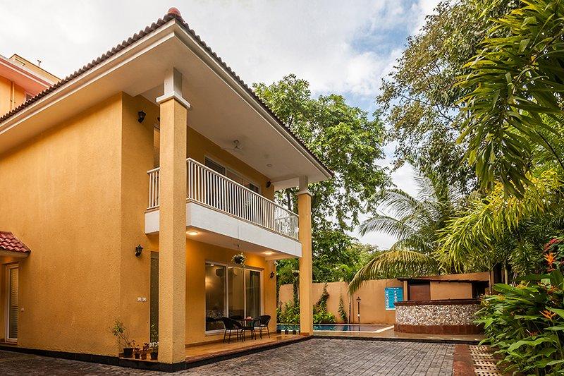 Villa Exterior View