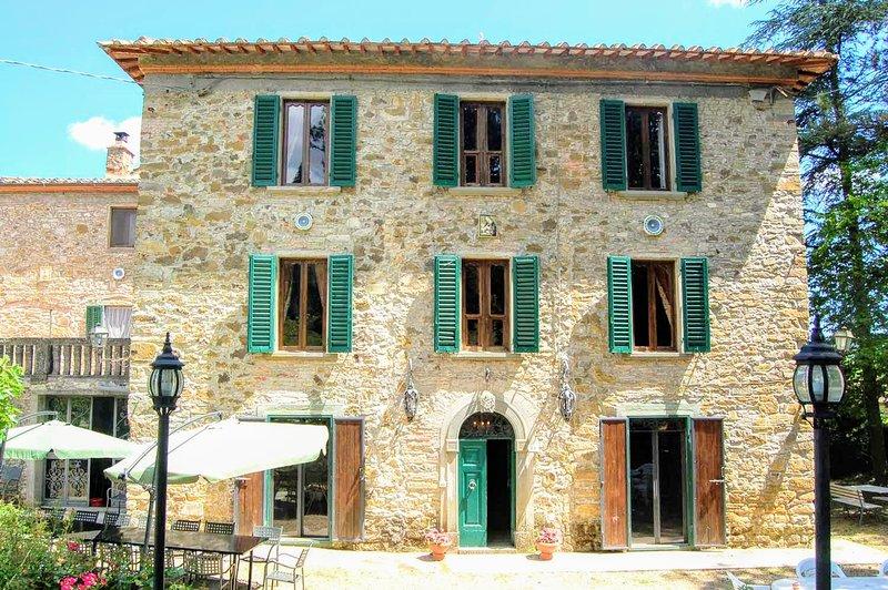 Palazzo Badia, alquiler de vacaciones en Bucine