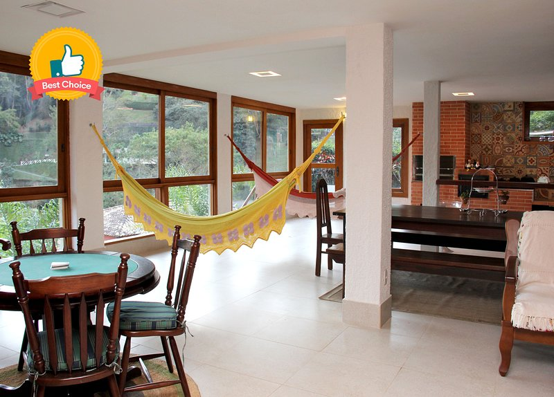 All in Rio: Casa com Área Gourmet e diarista, vacation rental in Petropolis