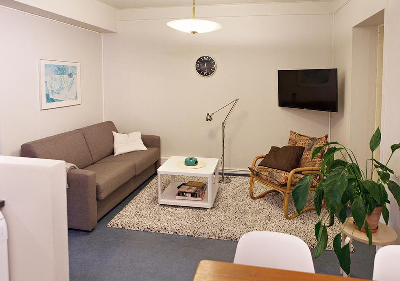 Brattagata Guesthouse, 3 bdr groundfloor, vacation rental in Seltjarnarnes