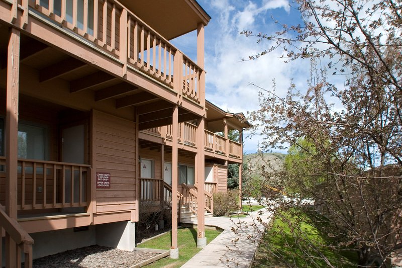 We think you'll love the location of our condo at the base of Snow King Mountain.