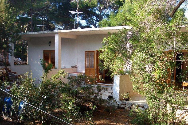 One bedroom apartment Cove Blaca, Mljet (A-10416-b), vakantiewoning in Saplunara