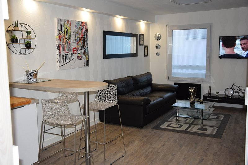 L'Intramuros Beau T1 Bis centre Vannes, holiday rental in Meucon