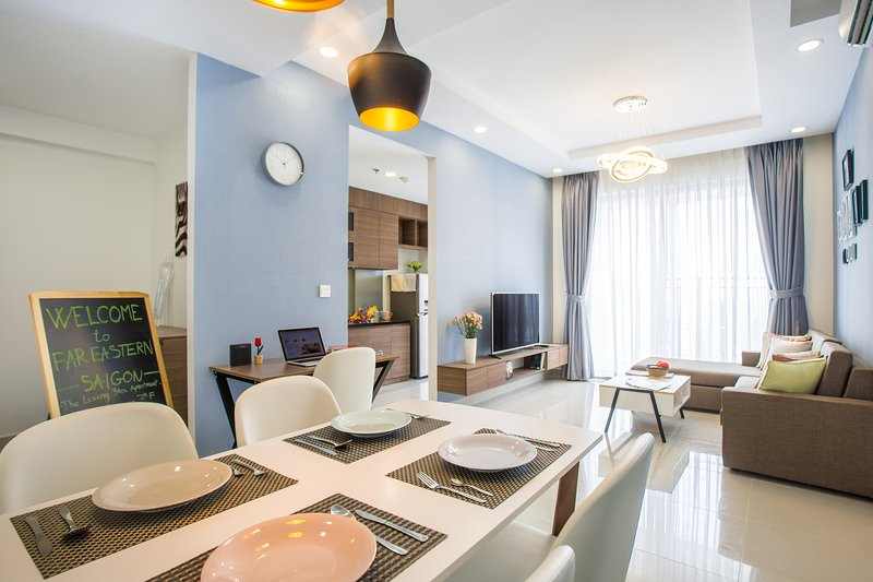 Luxury Decor 3 Bedroom Apartment On 30th Floor Near Ben Thanh With Free Gym Pool Updated 2020 Tripadvisor Ho Chi Minh City Vacation Rental