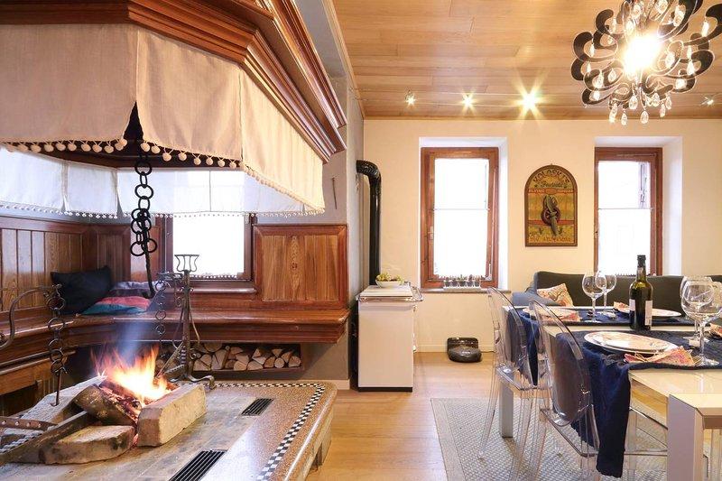 Apartament El Fogher at CharmingDolomites, vacation rental in Province of Belluno
