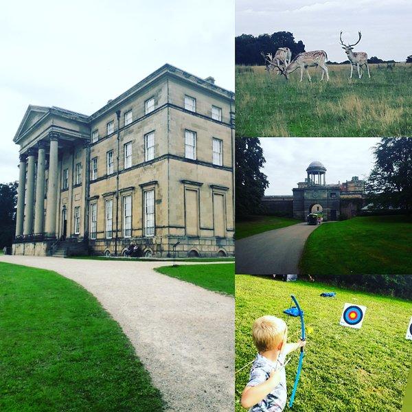 Attingham Hall et Deer Park