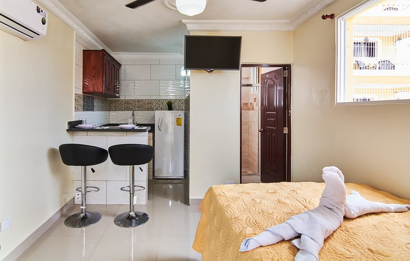 Awesome Studio-apartment For 2 Near Las Americas Airport and Colonial Zone, holiday rental in Santo Domingo Este