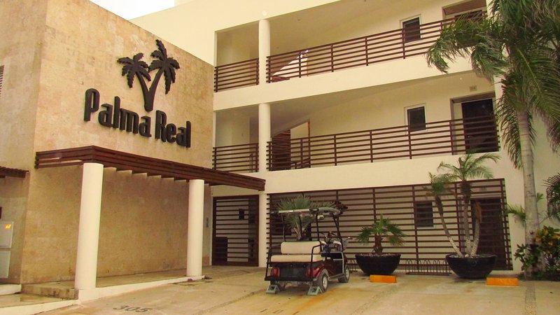 Palma Real entrance.
