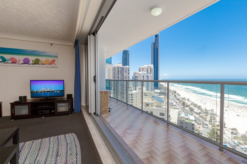 Stunning Beach and Ocean views, 21Floor, Free Wifi, location de vacances à Surfers Paradise