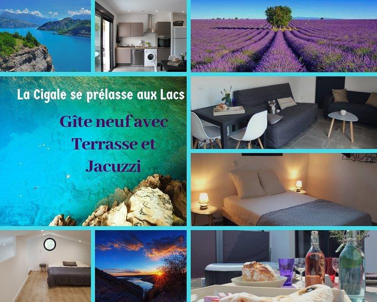La Cigale se prélasse aux Lacs du Verdon, holiday rental in Montmeyan