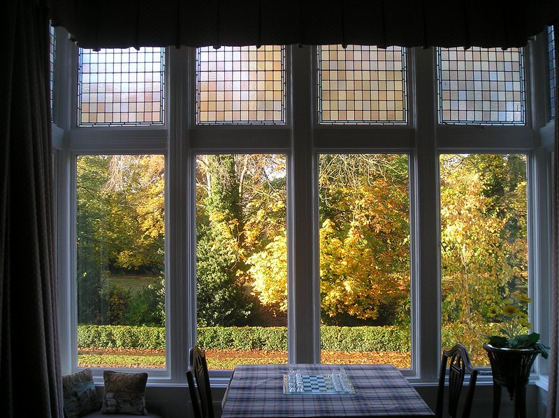 View from sitting room window