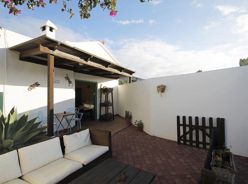 Apartamento Rural El Lagarto, Ferienwohnung in Macher