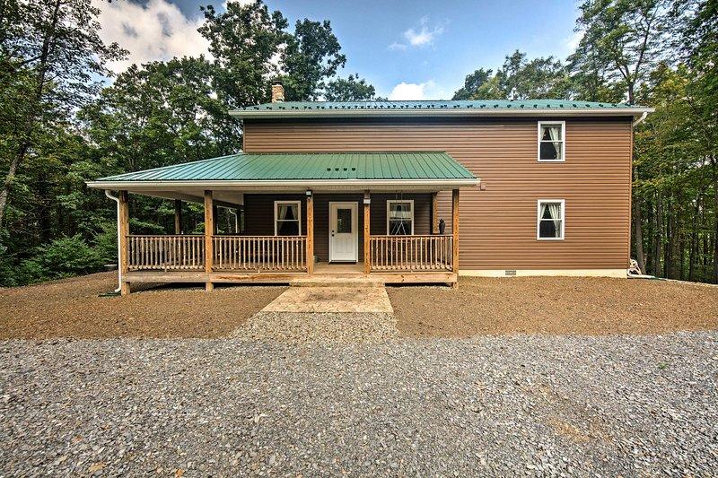 ¡Corre a Pensilvania Central y alójate en este alquiler de vacaciones de 5 dormitorios y 2 baños!