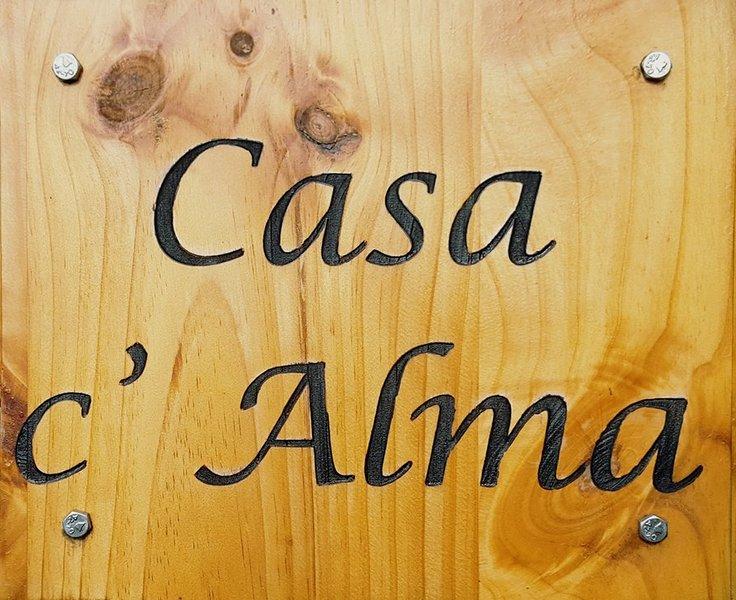 Logo of Casa c'Alma.