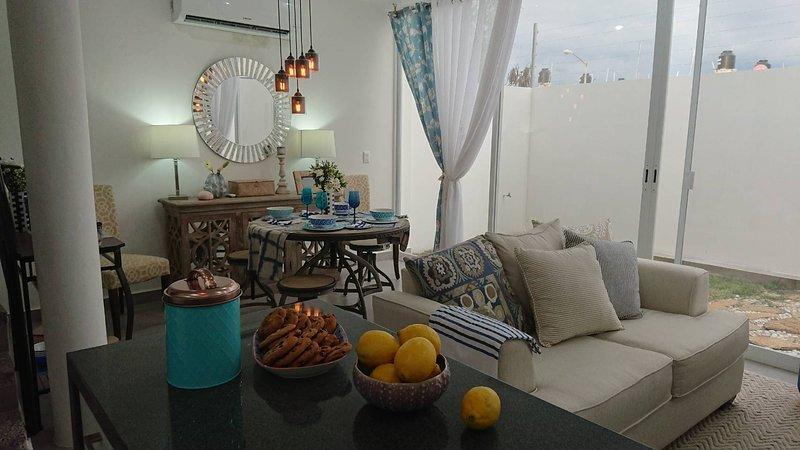 3BD Cosy, stylish and secure home in Riviera Nayarit close to the beach, alquiler vacacional en Ixtapa