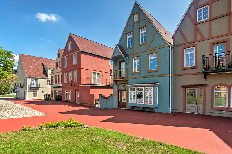 Explore the beautiful streets of Stoutdburg Village.