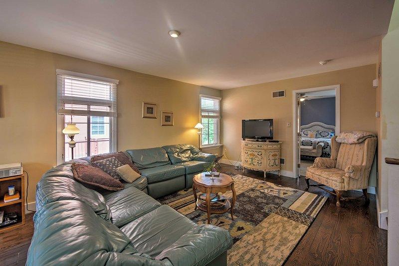 This 3-bedroom, 2.5-bath home can sleep 6.