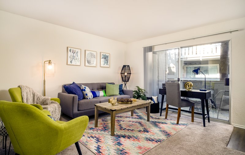 Modern & spacious living space