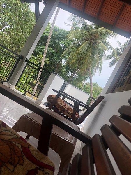 Balkong mot palmer ...