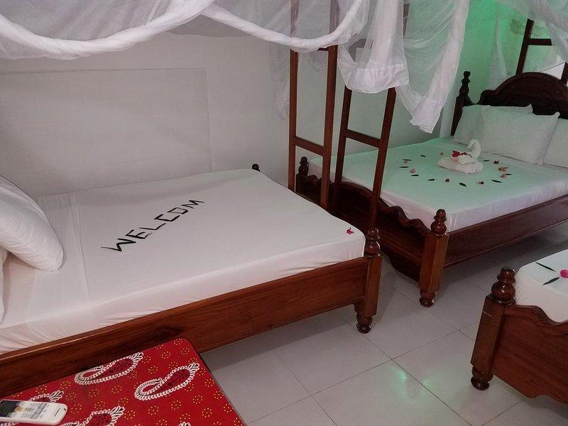 Baraka Beach Bungalows - Triple Room 2, holiday rental in Nungwi