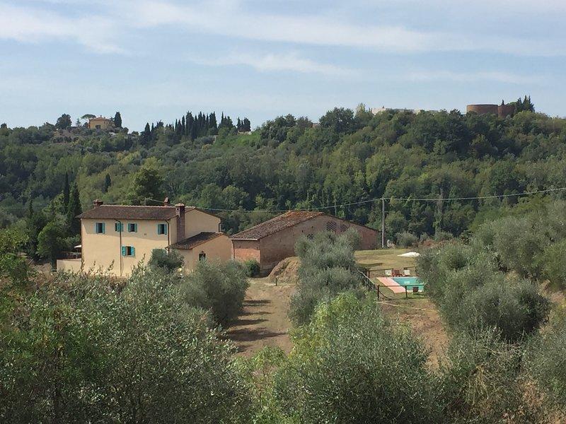 Podere l'Ulivo: splendida Villa Toscana di 400 metri con ampia piscina, vacation rental in Santa Croce Sull'Arno