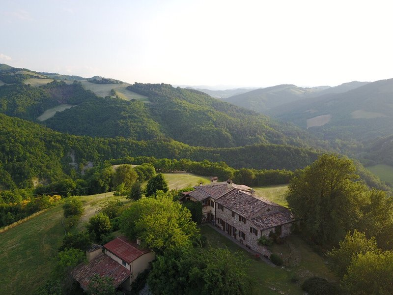 Overview from the drone.
