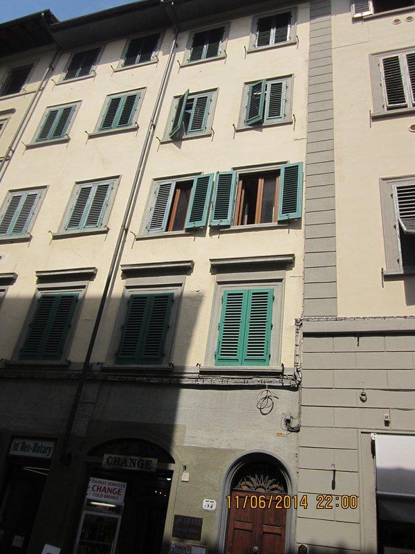 The condo in Via Ricasoli