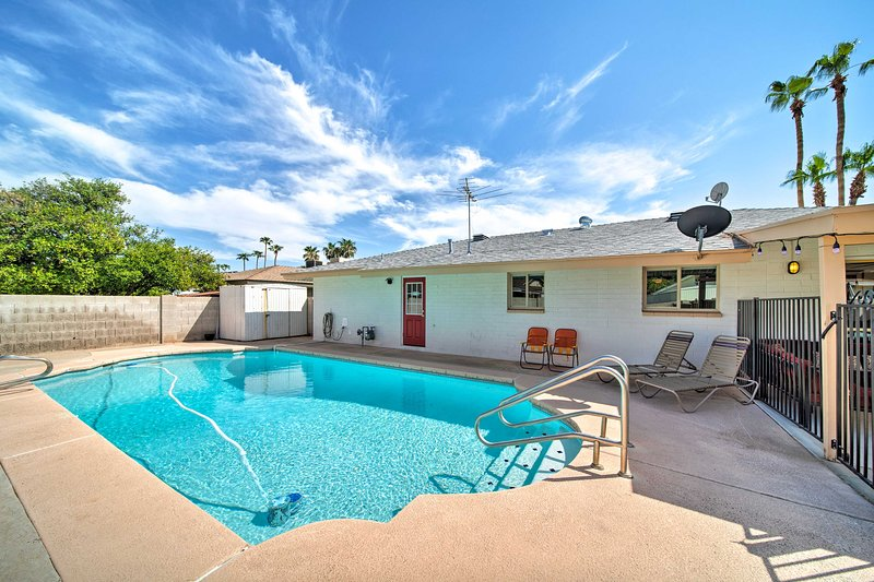 Make your way to this Tempe vacation rental for your next retreat in the sun!