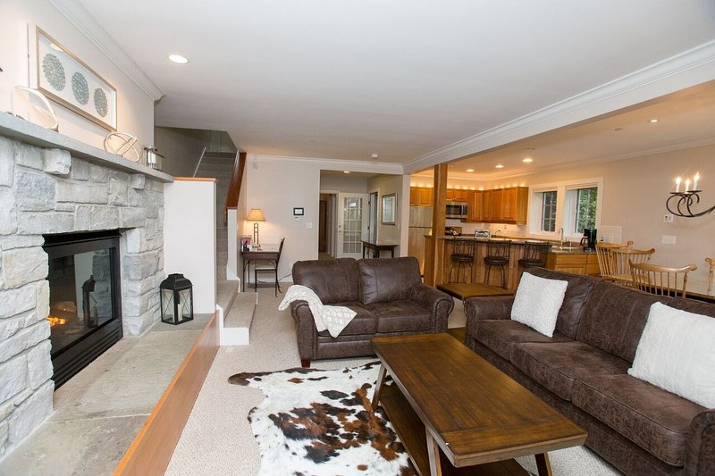 Come and stay in our modern and spacious 3 bedroom home in Vermont!