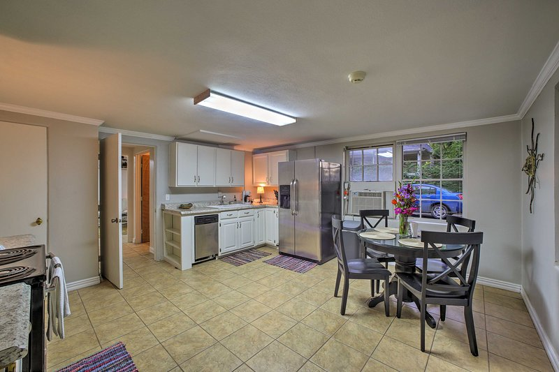 This lower-level condo was recently renovated to provide the comforts of home.