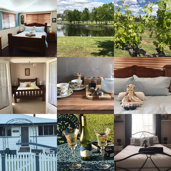 Cherry Blossom Cottage, holiday rental in Liston