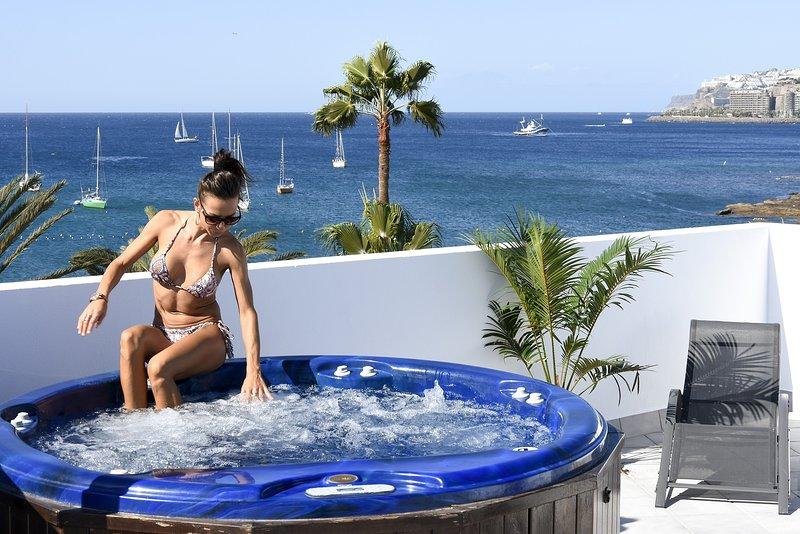 Pura Vida Beach Suite 1A, casa vacanza a Arguineguin