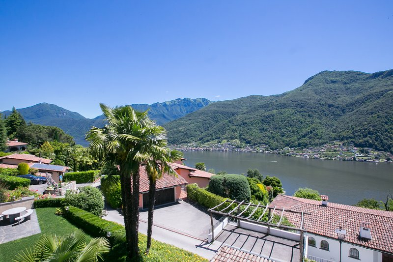 View on Lake Lugano