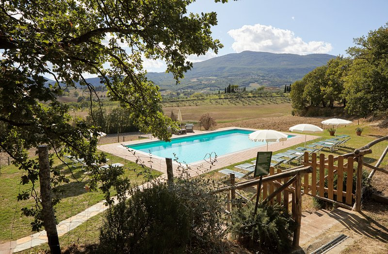 Radicofani Villa Sleeps 20 with Pool and Air Con - 5049029, casa vacanza a Piancastagnaio