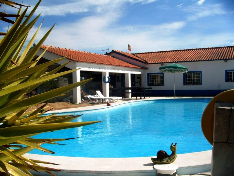 Amazing villa with swimming-pool, holiday rental in Grandola